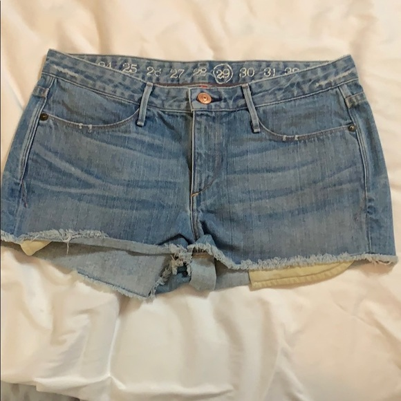Earnest Sewn Pants - Earnest Sewn booty shorts